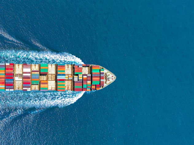 Sea freight and environment